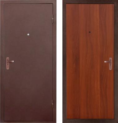 входные двери (стальные двери, металлические двери) DOORS007: дверь Страж ULTRA Эконом, Цвет