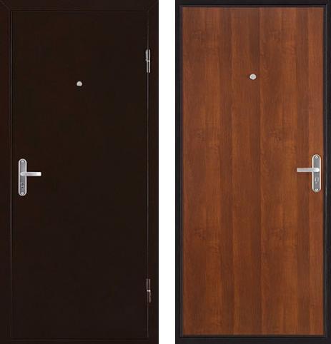 входные двери (стальные двери, металлические двери) DOORS007: дверь Страж ULTRA Эконом