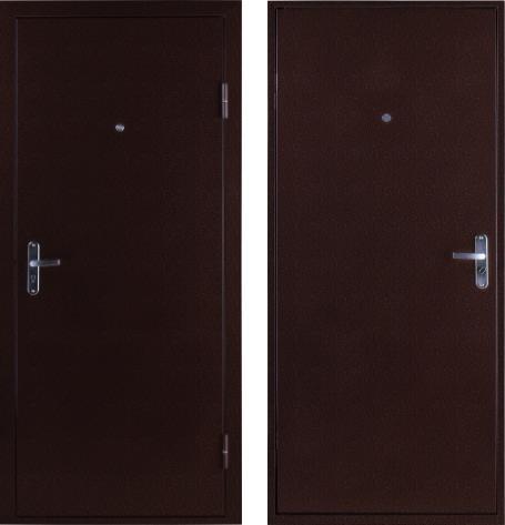 входные двери (стальные двери, металлические двери) DOORS007: дверь Страж ULTRA Steel