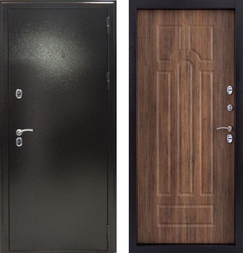 входные двери (стальные двери, металлические двери) DOORS007: дверь Страж Урал (Морозостойкая с термо-разрывом)