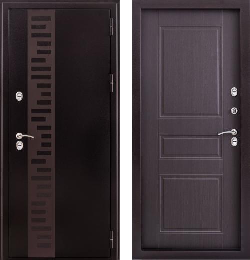 входные двери (стальные двери, металлические двери) DOORS007: дверь Страж Урал с декором, Цвет