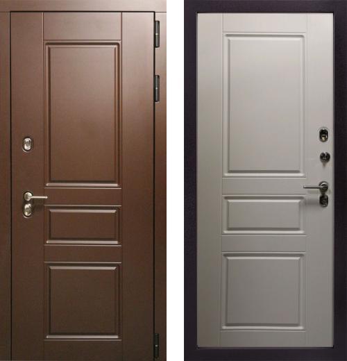 входные двери (стальные двери, металлические двери) DOORS007: дверь Страж Урал ПП