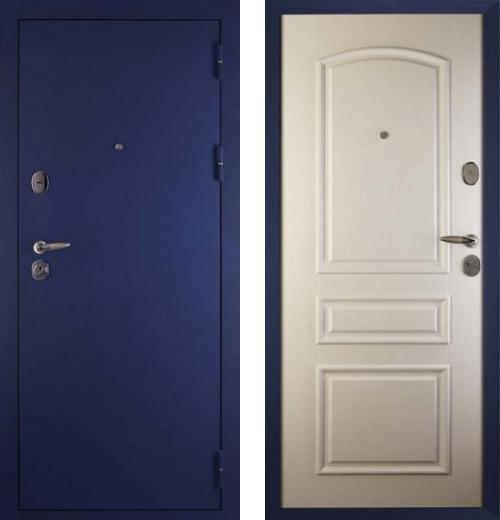 входные двери (стальные двери, металлические двери) DOORS007: дверь Сударь 3 Синий