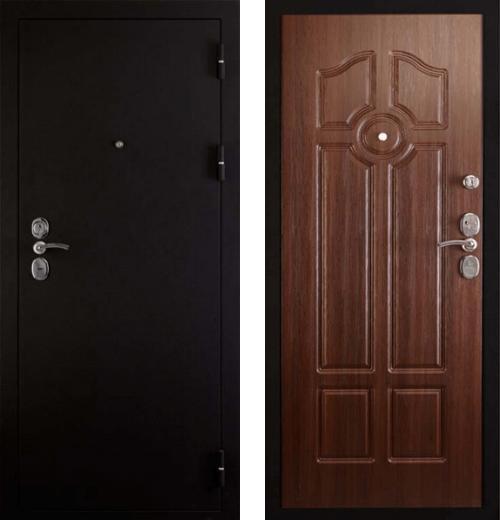 входные двери (стальные двери, металлические двери) DOORS007: дверь Сударь 4 Черный