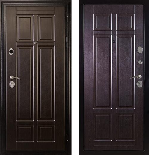 входные двери (стальные двери, металлические двери) DOORS007: дверь Сударь МД-07