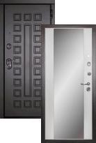дверь Сударь МД-30 с зеркалом (металлическая дверь Сударь МД-30 с зеркалом, железная дверь)
