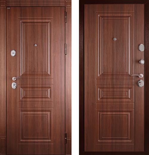 входные двери (стальные двери, металлические двери) DOORS007: дверь Сударь МД-33