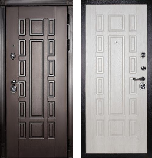 входные двери (стальные двери, металлические двери) DOORS007: дверь Сударь МД-35
