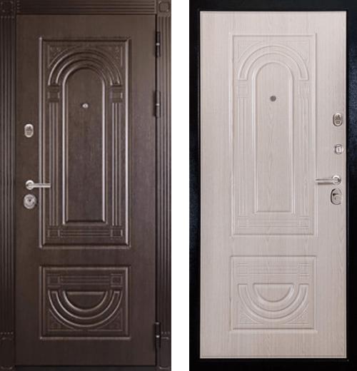 входные двери (стальные двери, металлические двери) DOORS007: дверь Сударь МД-36