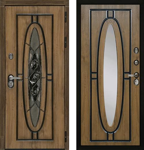 входные двери (стальные двери, металлические двери) DOORS007: дверь Diva Монарх