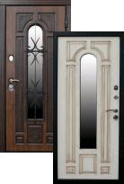 Стальная дверь Сударь Рим с ковкой