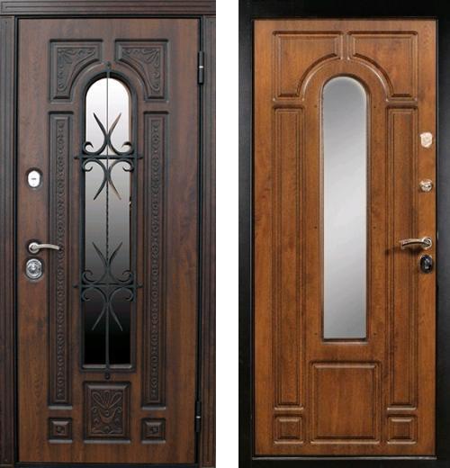 входные двери (стальные двери, металлические двери) DOORS007: дверь Diva Рим с ковкой