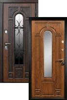 Входная дверь Сударь Рим с ковкой