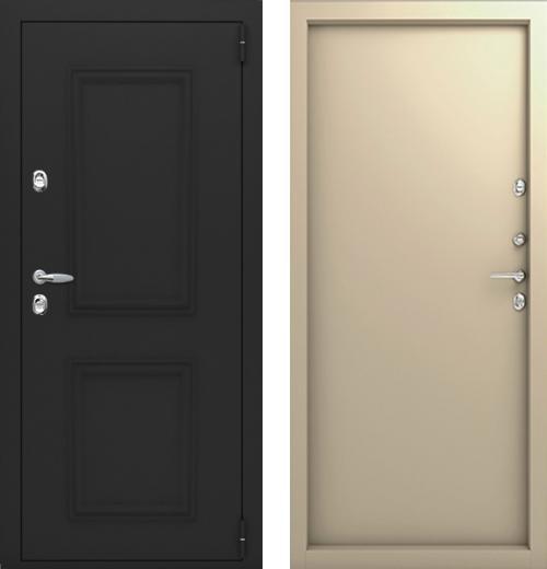 входные двери (стальные двери, металлические двери) DOORS007: дверь Термо Termo Багет