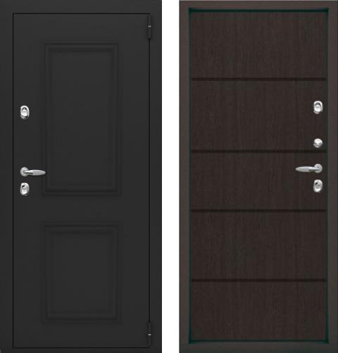 входные двери (стальные двери, металлические двери) DOORS007: дверь Термо Termo Plus Багет, Цвет