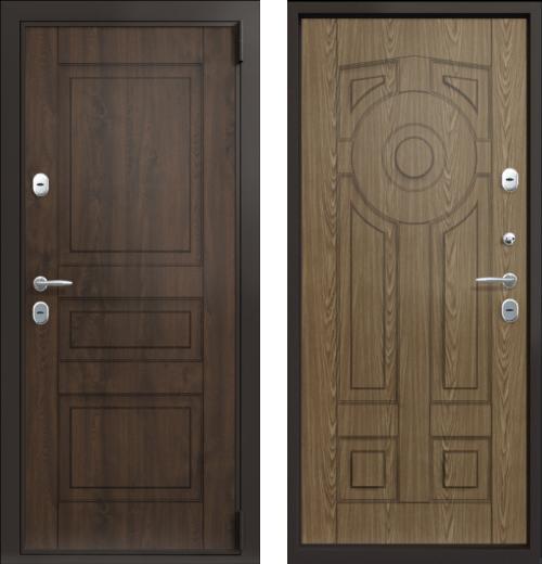 входные двери (стальные двери, металлические двери) DOORS007: дверь Термо TermoLux