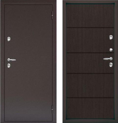 входные двери (стальные двери, металлические двери) DOORS007: дверь Термо Termo Plus, Цвет