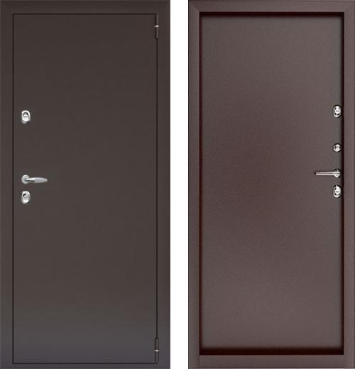 входные двери (стальные двери, металлические двери) DOORS007: дверь Термо Termo