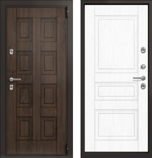 входные двери (стальные двери, металлические двери) DOORS007: дверь Термо TermoWOOD