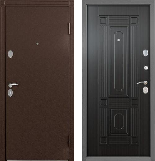 входные двери (стальные двери, металлические двери) DOORS007: дверь Торэкс СТЕЛ-07 рис.SK4, цвет