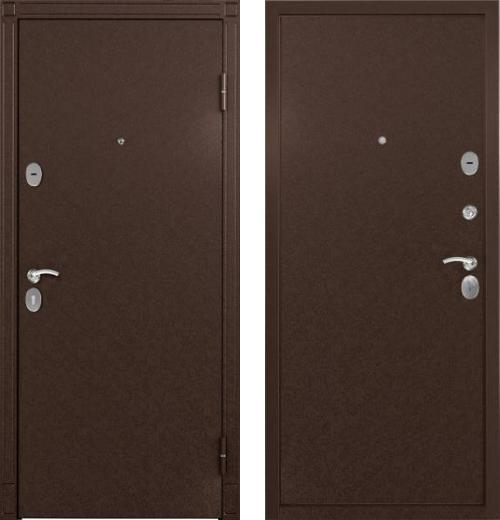 входные двери (стальные двери, металлические двери) DOORS007: дверь Торэкс СТЕЛ Металл