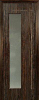 Межкомнатная дверь Вертикаль цвет Эбен