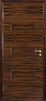 Межкомнатная дверь Виктория цвет Эбен