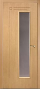 Межкомнатная дверь Вертикаль цвет Дуб светлый