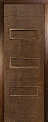 Межкомнатная дверь Виктория цвет Орех