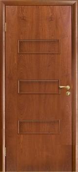 Межкомнатная дверь Виктория цвет Красное дерево