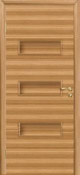 Межкомнатная дверь Виктория цвет Зебрано